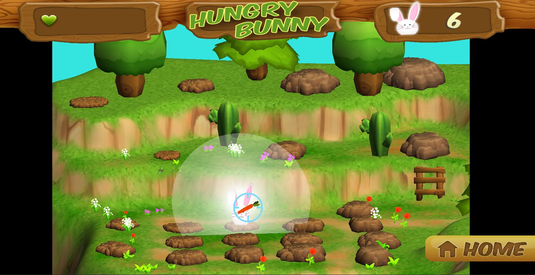 Hungry Bunny Gameplay Screenshot